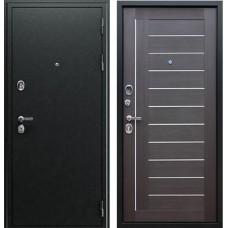 Входная стальная дверь АСД «Соло» Орех рифленый