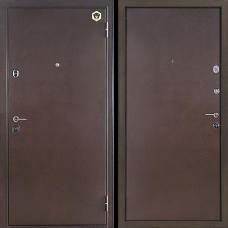 Двери Бульдорс NEW 14 Steel Медь / Медь