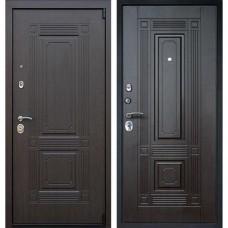 Входная стальная дверь АСД Викинг (без зеркала) Венге