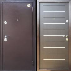 Двери Бульдорс 13 NEW венге М3 молдинг