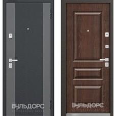 БУЛЬДОРС 44 К черный шелк К2 / дуб коньяк N7 (КОНСТРУКТОР)
