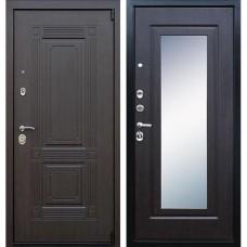 Входная стальная дверь АСД Викинг (с зеркалом) Венге