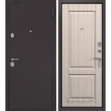 Двери Бульдорс Конструктор 24 (Букле шоколад / Ясень ривьера крем)