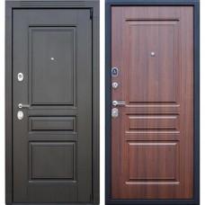 Входная стальная дверь АСД Гермес NEW Орех бренди