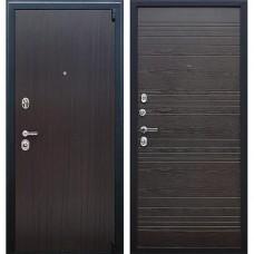 Входная стальная дверь АСД Next 2 Венге поперечный