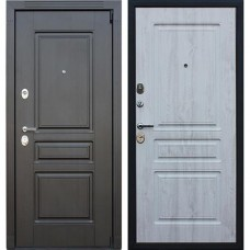 Входная стальная дверь АСД Гермес NEW Сосна белая