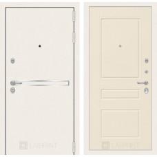 Входная дверь Лабиринт Лайн WHITE 03 - Крем софт