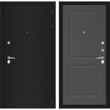 Входная дверь Лабиринт CLASSIC шагрень черная 11 - Графит софт