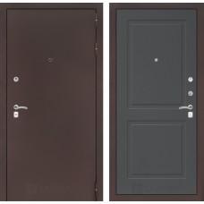 Входная дверь Лабиринт CLASSIC антик медный 11 - Графит софт