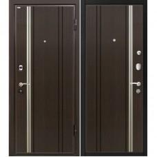 Входная металлическая дверь МеталЮр М2 (Венге / Венге)