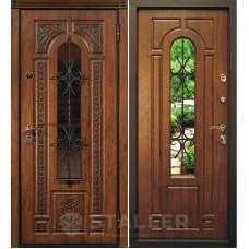 Входная металлическая дверь Сталлер Лацио (Дуб золотой)