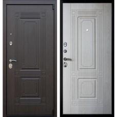 Входная стальная дверь АСД Викинг (без зеркала) Беленый дуб