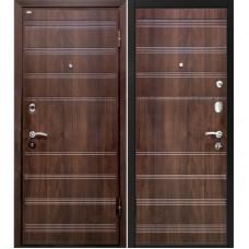 Входная металлическая дверь МеталЮр М1 (Венге / Венге)