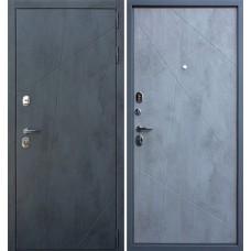 Входная стальная дверь АСД Дуэт Б Бетон светлый