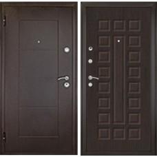 Входная дверь Дверной континент Квадро венге