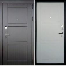 Входная дверь Дверной континент Тепло-Макс Белое дерево