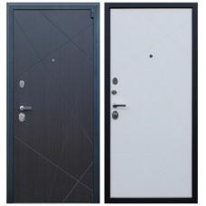 Входная стальная дверь АСД «Вектор» Пастель молочная
