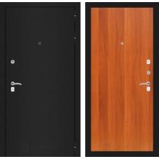 Входная дверь Лабиринт CLASSIC шагрень черная 05 - Итальянский орех