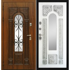 Входная дверь Сударь Рим Almon 25 со стеклопакетом