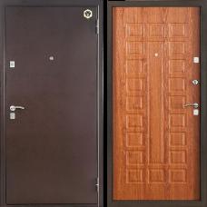 Двери Бульдорс NEW 13 Медь / Дуб Золотой А-3