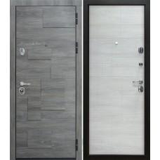 Входная металлическая дверь Сталлер Бруно, дуб шале графит