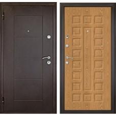 Входная дверь Дверной континент Квадро дуб золотой