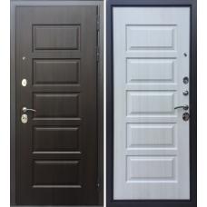Двери Бульдорс Комбат-5 (Ларче шоколад / Ларче бьянко) V-10