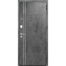 Входная дверь Аргус Люкс 3К 2П Лофт (темный бетон)