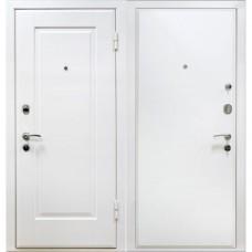 Входная металлическая дверь МеталЮр М10 (Белая)