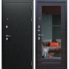 Входная стальная дверь АСД Next 1 Венге поперечный с зеркалом