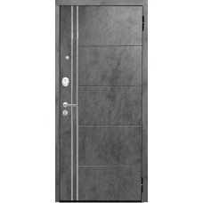 Входная дверь Аргус Люкс АС 2П Лофт (темный бетон)