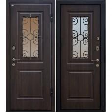 Входная металлическая дверь МеталЮр М32 (Венге / Венге)
