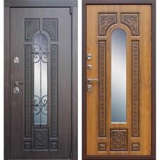 Входная стальная дверь АСД Лацио Золотой Дуб (заказная)