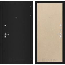 Входная дверь Лабиринт CLASSIC шагрень черная 05 - Венге светлый