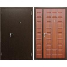 Входная стальная дверь АСД Двустворчатая NEW Орех итальянский