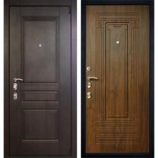 Входная стальная дверь АСД Антей Дуб темный (заказная)