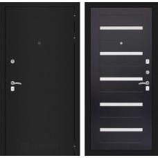 Входная дверь Лабиринт CLASSIC шагрень черная 01 - Венге