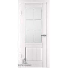 Дверь межкомнатная Баден 2, цвет: Эмаль белая (Ral 9003)