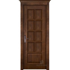 Дверь межкомнатная Лондон, цвет: Античный орех
