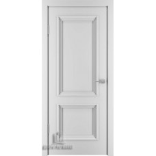 Дверь межкомнатная Бергамо 4, цвет: Эмаль белая (Ral 9003)