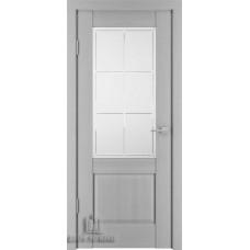 Дверь межкомнатная Баден 2, цвет: Эмаль серая (Ral 7047)