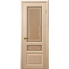 Дверь межкомнатная Валенсия 2, цвет: Беленый дуб