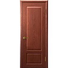 Дверь межкомнатная Валенсия 1, цвет: Красное дерево