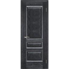 Дверь межкомнатная Вена, цвет: Черная патина