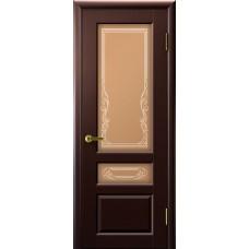 Дверь межкомнатная Валенсия 2, цвет: Венге
