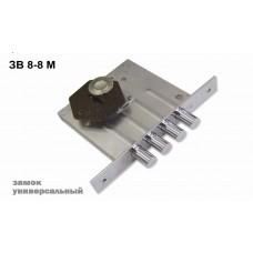 Замок врезной сувальдный ЗВ8-8М/13 (без отв. планки), 3 кл. /81000/