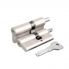 Цилиндровый механизм под вертушку Cisa ASIX OE302-85.12 (80 мм/40+10+30), НИКЕЛЬ