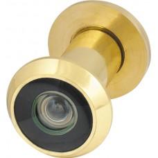 Глазок дверной, пластиковая оптика DV1, 16/35х60 GP Золото