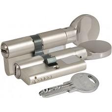 Цилиндровый механизм с вертушкой 164 SM/70 (30+10+30) mm никель 5 кл.
