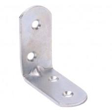 Кронштейн мебельный МК 40х40х20х2 цинк белый